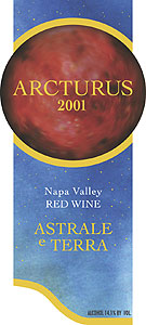 Astrale e Terra, Atlas Peak - Napa Valley